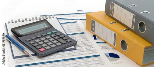 Accounting v2 Canvas Print