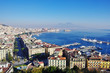 View of the Gulf of Naples, Italy