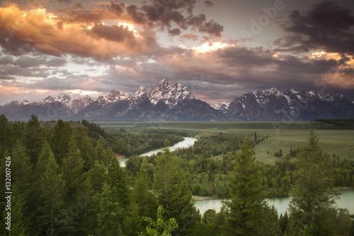 Photo Teton Cloudburst