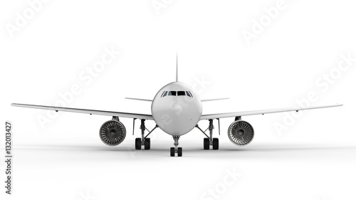 Obraz na płótnie biały makiety samolot