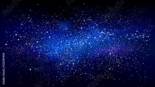 Obraz Outer space starry design - fototapety do salonu
