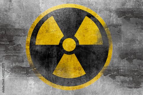 Fotografie, Obraz  nuclear reactor symbol