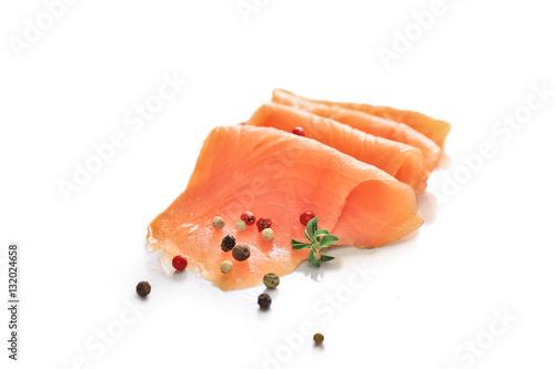 Fotografie, Obraz  tranche de saumon