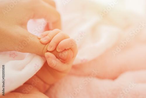Fotografie, Obraz  Little Hand of baby