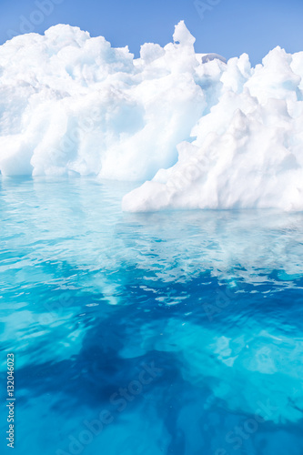 Printed kitchen splashbacks Antarctic Eisberg in der Antarktis
