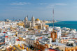 Cadiz. Aerial view of the city.