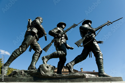 Canvas Prints Historic monument War Memorial Monument - Charlottetown - Canada