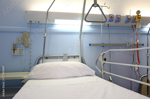 hospital cama U84A1913-f17 Canvas Print