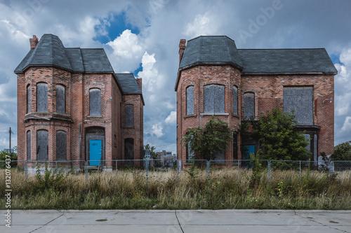 Fototapeta Abandoned Building Detroit obraz