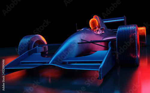 Photographie Racing cars
