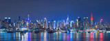 Fototapeta Nowy York - Skyline of New York City, USA