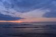 Sonnenuntergang Lido di Camaiore im Ligurischen Meer