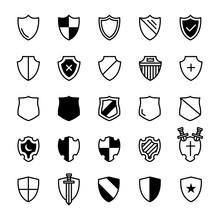 Set Of Ancient Shields
