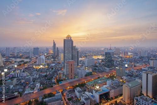 Skyline of Bangkok, Thailand Poster