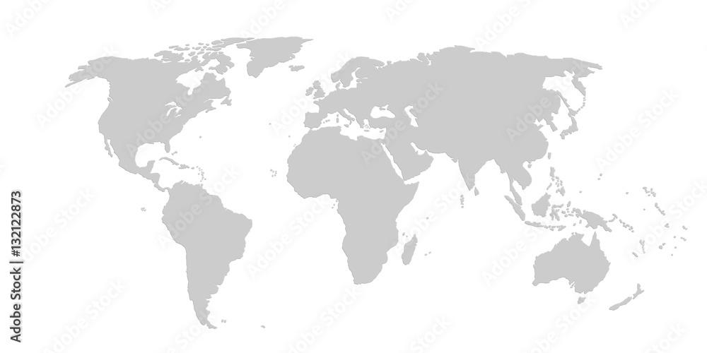 Fototapety, obrazy: World Map