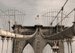 Brooklyn Bridge - sepia image