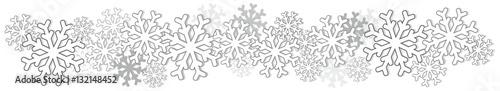 Fototapeta Śnieg pasek obraz