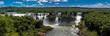 View of the Iguazú Falls