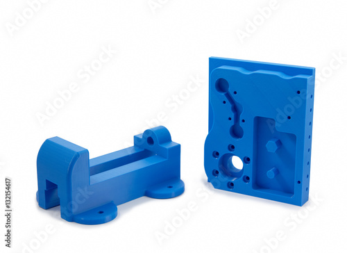 Carta da parati  Industrial Machine Parts Printed With 3D Printer
