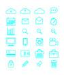 Simple web icons set