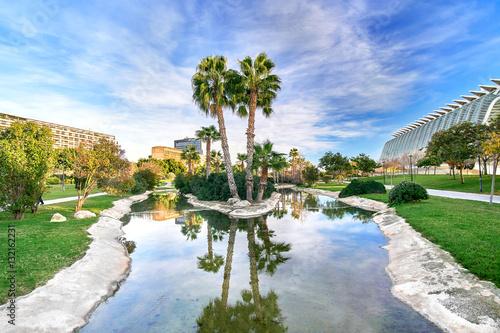 Turia Gardens Valencia Spain