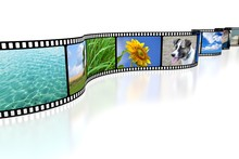 3D Film Tape And Pictures - Great For Topics Like Movies, Photography Etc.