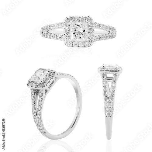 7a20dfc1acd0 anillo con diamantes en oro blanco joyeria argolla en plata com brillantes