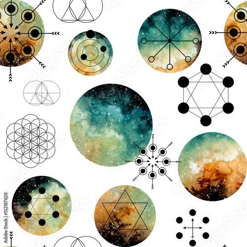 wzor-z-swietej-geometrii-i-mglawicy-akwarela