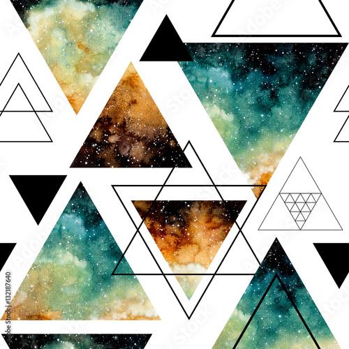 bezszwowy-wzor-gwiazdzisty-niebo-w-trojbokach