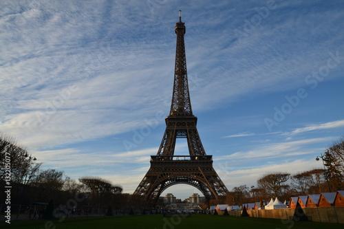 Foto op Aluminium Eiffeltoren Paris - Eiffel Tower (Tour Eiffel)