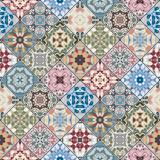 Abstrakcyjne wzory w zestawie mozaiki. - 132211613