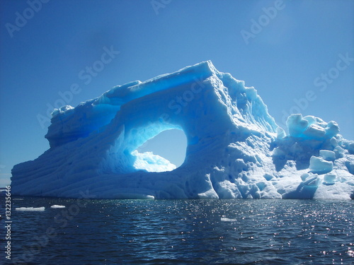 Photo Icerberg Patagonia. Chile