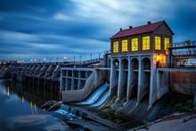 Lake Overholser Dam In Oklahom...