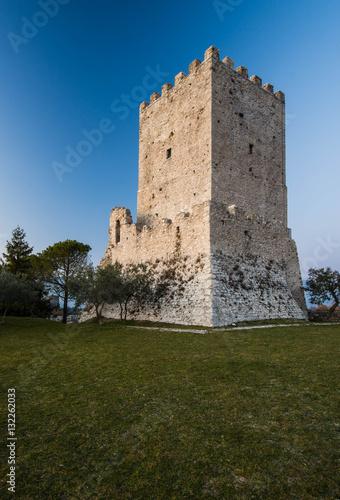 Acropolis of Civitavecchia di Arpino, Ciociaria, Italy Wallpaper Mural