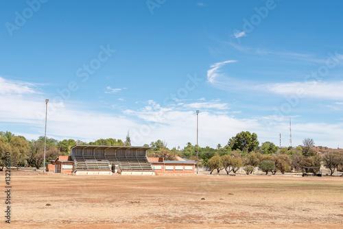 Spoed Foto op Canvas Stadion Sport stadium in Koffiefontein