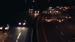 Slow Motion Highway by night