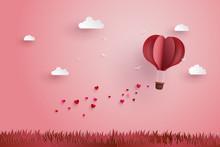 Origami Made Hot Air Balloon A...