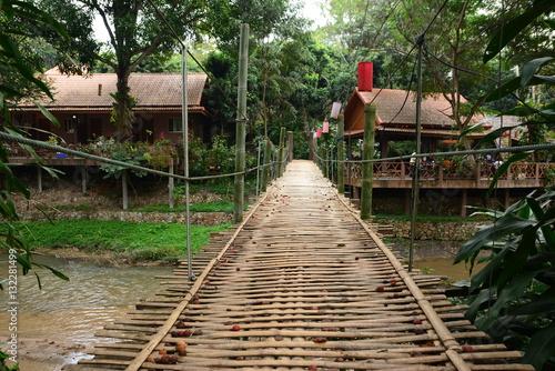 Recess Fitting Bamboo bridge