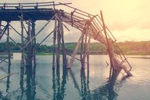 Longest  Wooden Bridge It Brok...