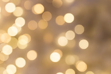 Defocused Bokeh Light Background For Christmas And New Year Celebrate
