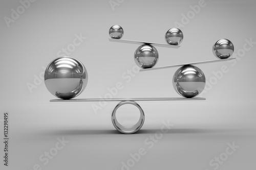 Fotografie, Obraz  Balance Concept