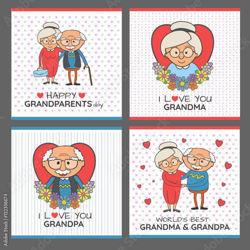 Grandparents day - fototapety na wymiar