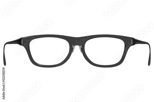 Rear view of eyeglasses as if you are wearing them Wallpaper Mural