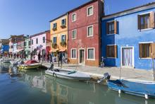 Canal And Colourful Facade, Bu...