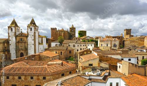 Fotografie, Obraz  Cáceres ciudad patrimonio de la Humanidad, España