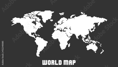 Dotted blank white world map isolated on black background world map dotted blank white world map isolated on black background world map vector template for website gumiabroncs Choice Image