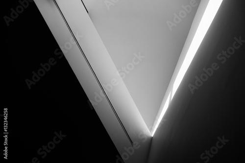 fototapeta na lodówkę Converging