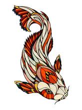 Koi, Illustration