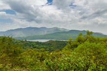 Mountain Lake At The Ring Road Highlands In Cameroon, Africa