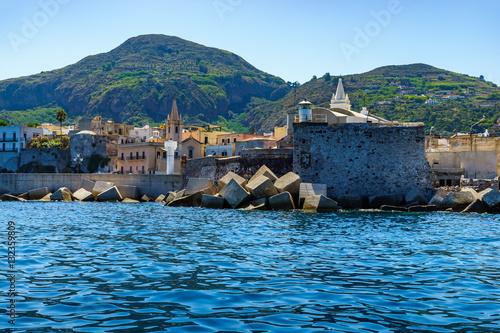 City on the water Lipari, Port of Lipari